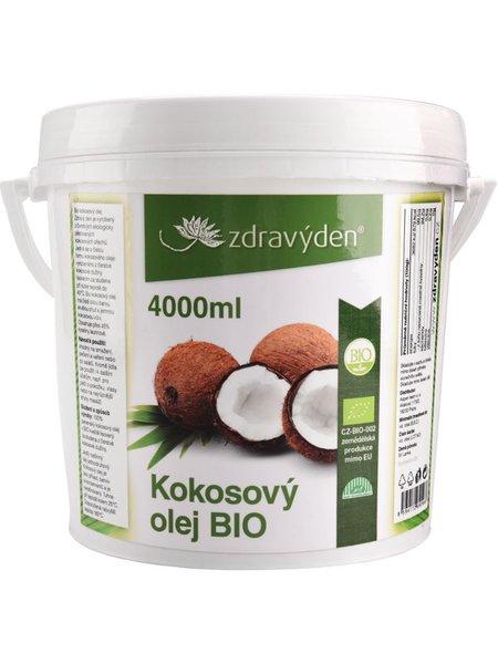 Kokosový olej BIO 4000ml