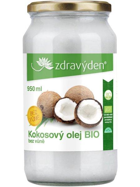 Kokosový olej BIO 950ml bez vůně