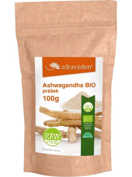 Ashwagandha BIO prášek 100g