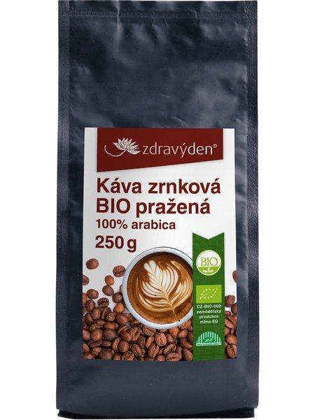 Káva zrnková BIO pražená 250g
