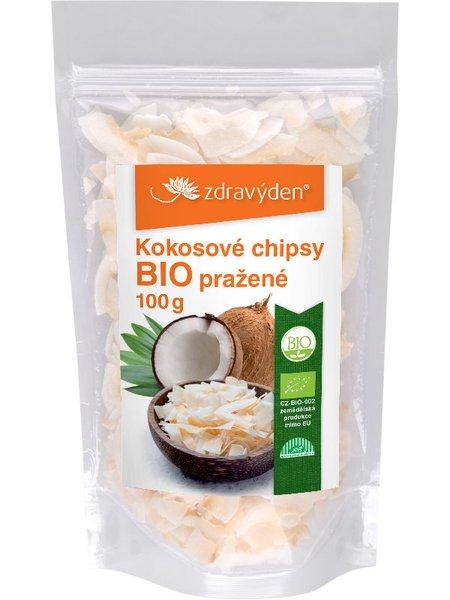 Kokosové chipsy pražené BIO 100g